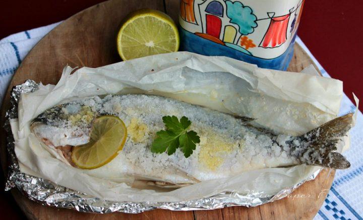 Come preparare il pesce al sale per una cottura perfetta il mio saper fare