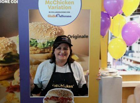 Visita alle cucine di McDonald's e assaggio dei nuovi panini McChicken Variation
