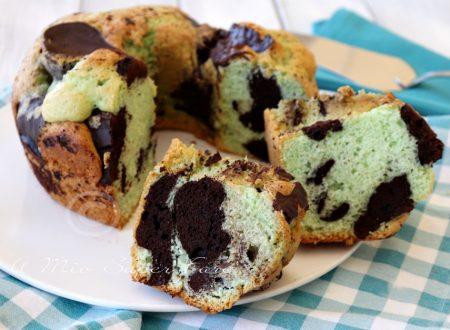 Torta cioccomenta soffice e golosa