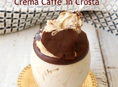 Crema caffè in crosta semifreddo cremoso