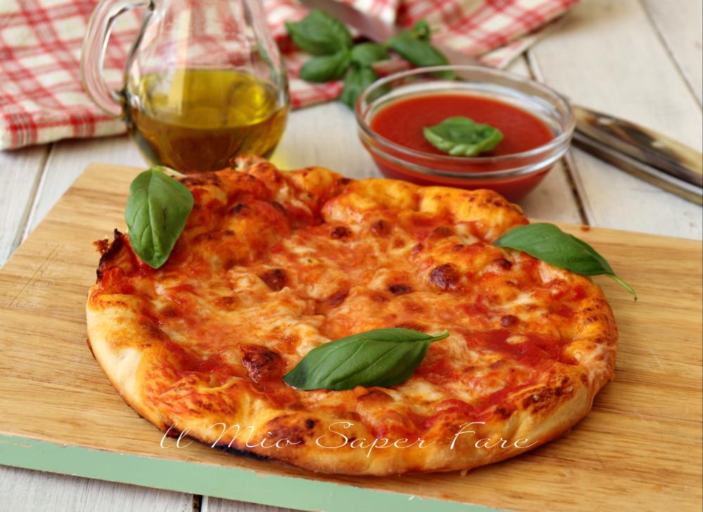 Pizza al tegamino o padelino ricetta torinese il mio saper fare