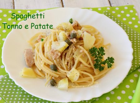Spaghetti tonno e patate