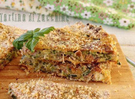 Tortino di zucchine morbido