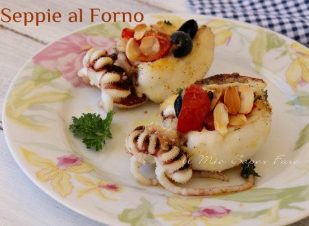 Seppie al forno con pomodorini e olive
