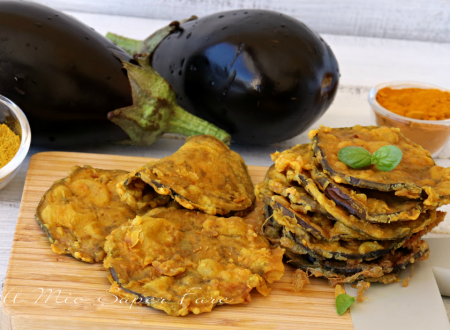 Melanzane dorate al curry e curcuma