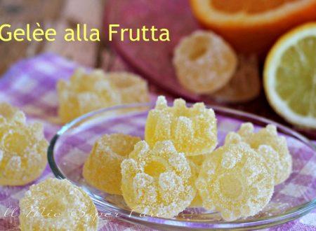Gelèe alla frutta caramelle fatte in casa