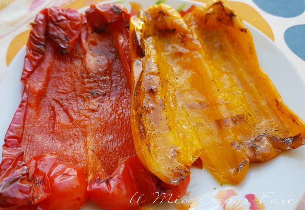 Peperoni al forno con paprica ricetta il mio saper fare