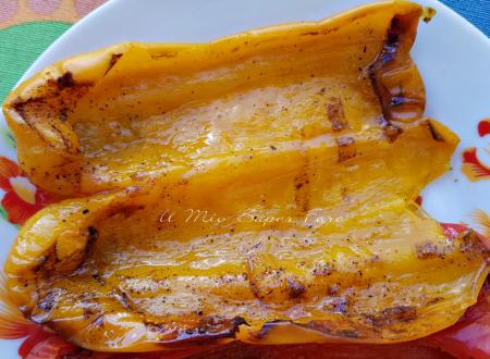 Peperoni al forno con paprica