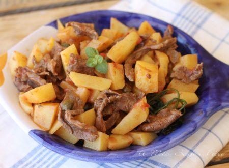 Straccetti di carne con patate
