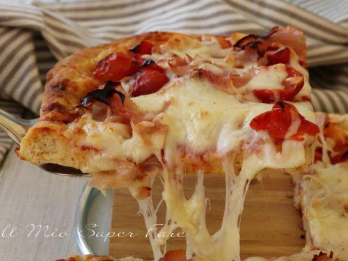 Pizza istantanea ricetta veloce