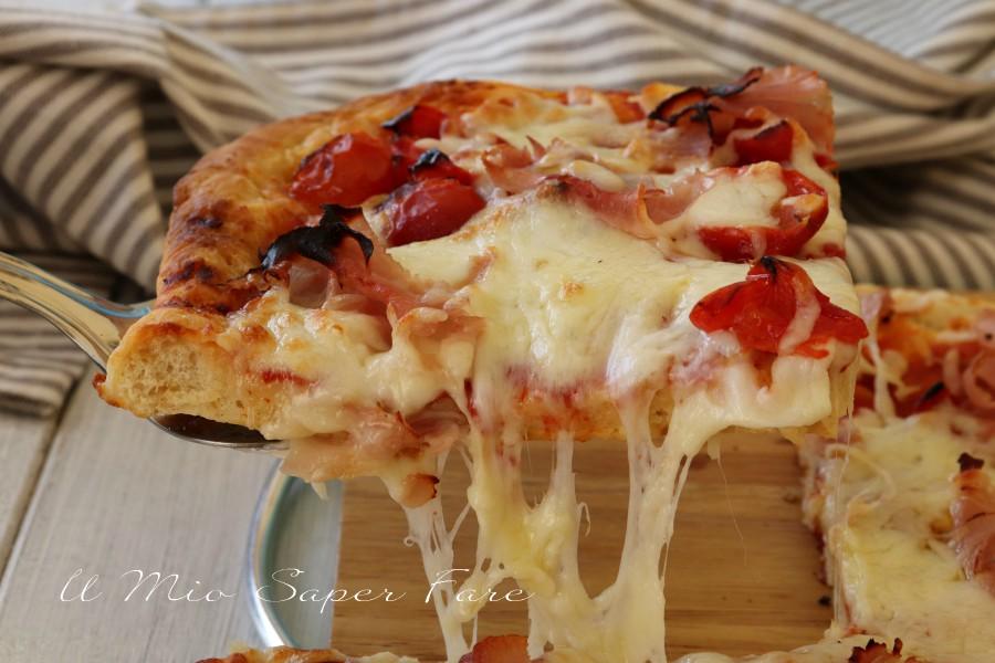 Pizza istantanea ricetta veloce il mio saper fare