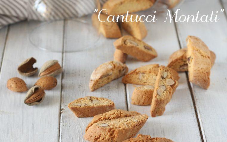 Cantucci montati ricetta biscotti alle mandorle