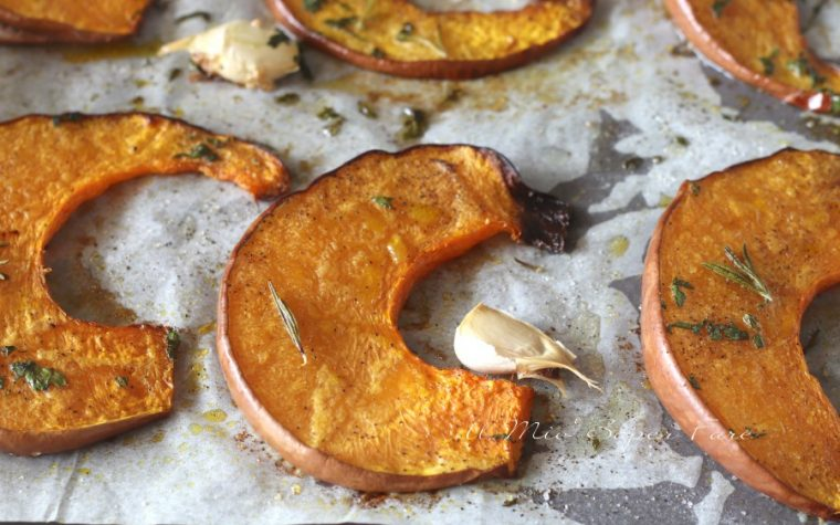 Zucca al forno ricetta facile