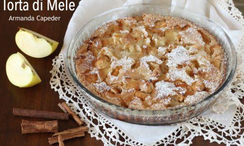 Torta di mele ricetta Armanda Capeder