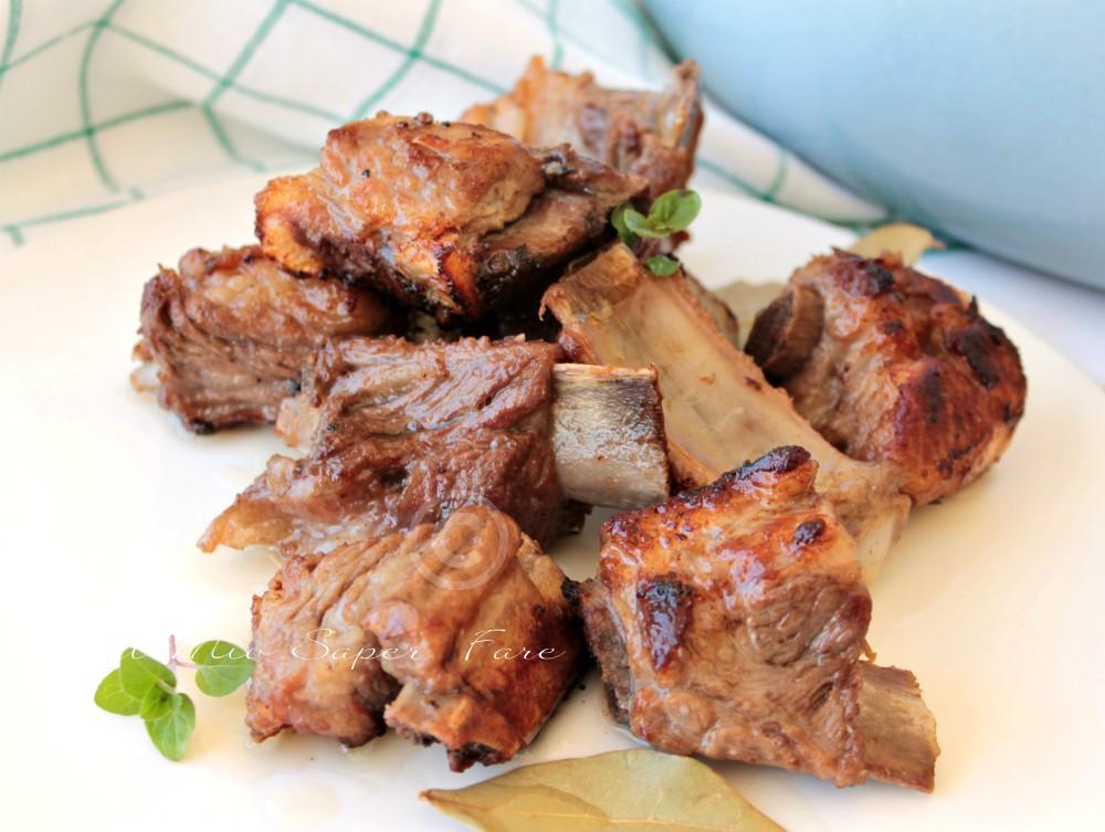 Costine di maiale in padella ricetta il mio saper fare