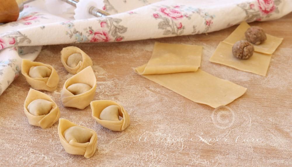 Ravioli allo Speck Alto Adige ripieni di formaggio
