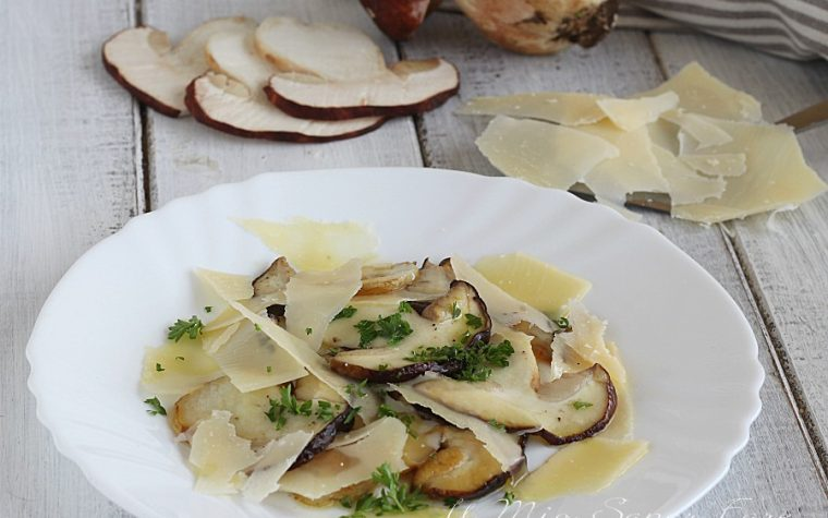 Funghi porcini al parmigiano