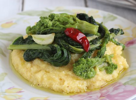 Polenta con cime di rapa ricetta frascatula