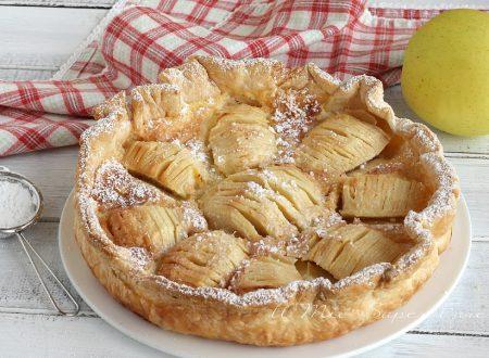 Crostata di mele e panna ricetta geniale