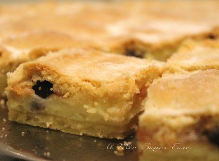 Crostata bocconotto con crema e amarene