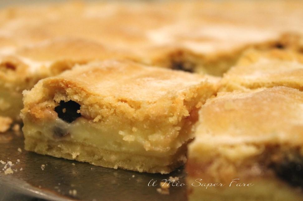 Crostata bocconotto con crema e amarene ricetta il mio saper fare