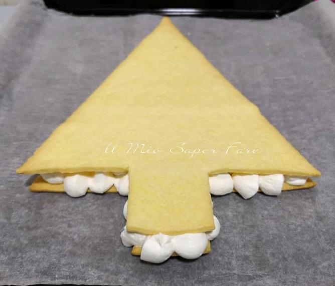 Cream tart albero di Natale ricette il mio saper fare