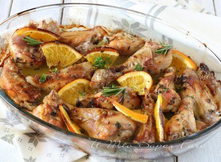 Pollo all'arancia ricetta al forno