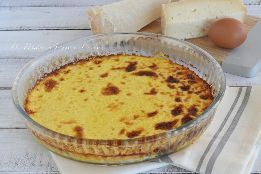 Torta salata con uova e formaggio ricette il mio saper fare