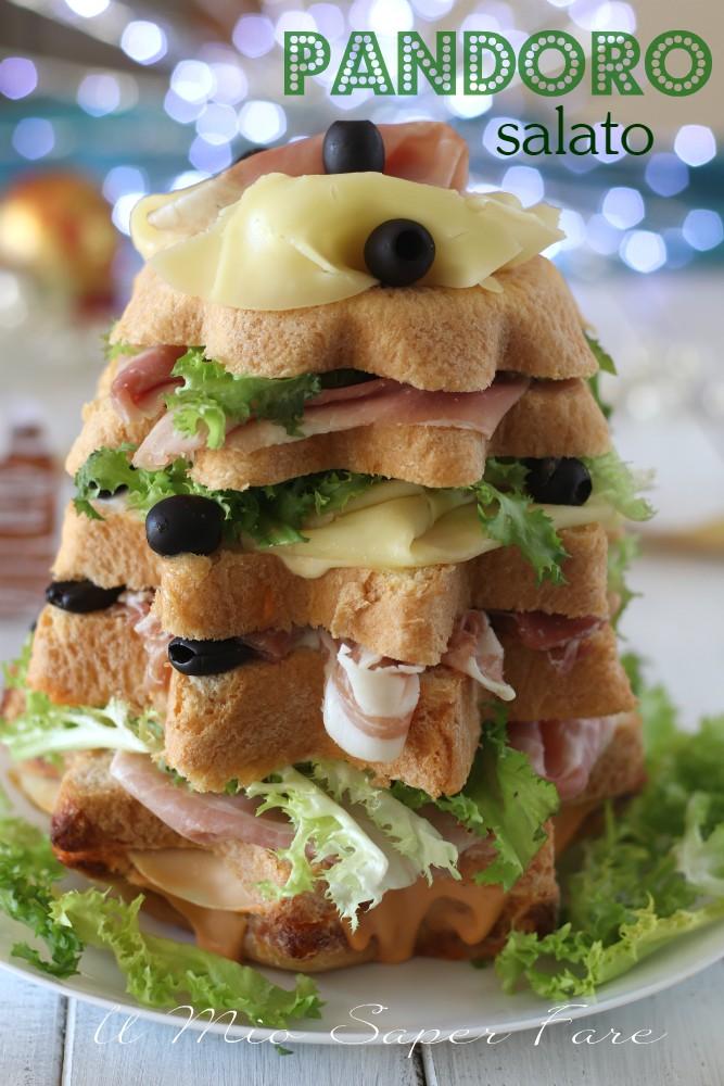 Pandoro salato ricetta pan canasta soffice il mio saper fare