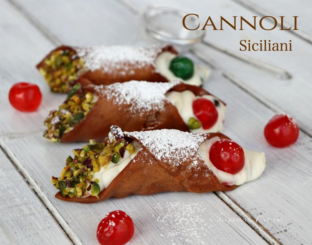 Cannoli siciliani croccanti ricetta con video il mio saper fare