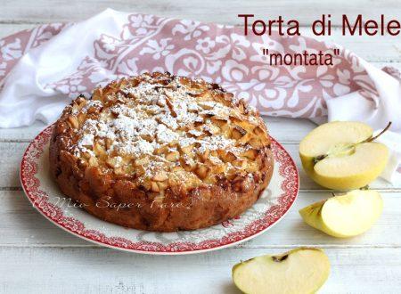 Torta di mele montata di Montersino