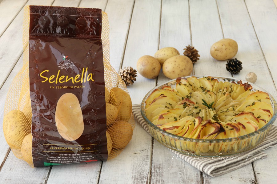 Teglia di patate croccanti al forno con segreto il mio saper fare