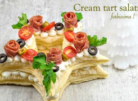 Cream tart salata ricetta furbissima