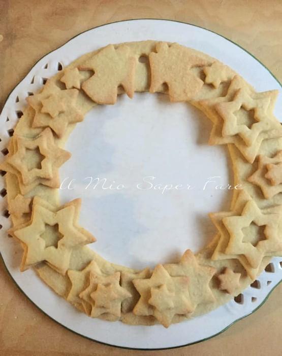 Ghirlanda di biscotti di Natale ricette il mio saper fare