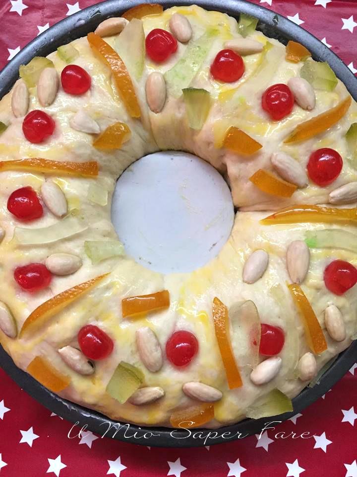 Dolce dei Re Magi Roscon de Reyes ricette il mio saper fare