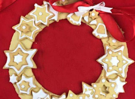 Ghirlanda di biscotti di Natale