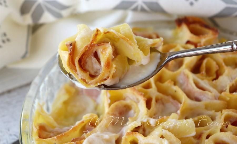 Girelle di lasagne prosciutto e provola ricette il mio saper fare