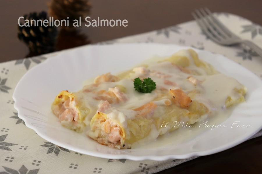 Cannelloni al salmone ricetta facile e veloce il mio saper fare