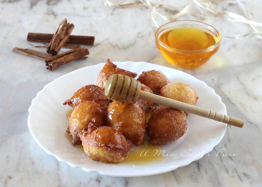 Castagnole al miele ricetta dolce di Carnevale il mio saper fare