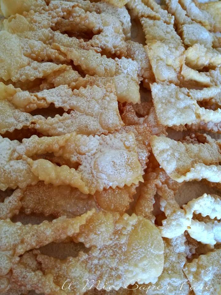 Chiacchiere fritte ricetta dolce il mio saper fare
