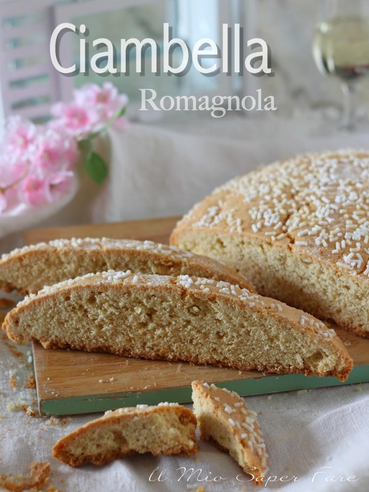 Ciambella romagnola ricetta dolce facile il mio saper fare