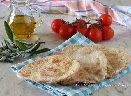 Piadine di patate al forno ricetta impasto con panna