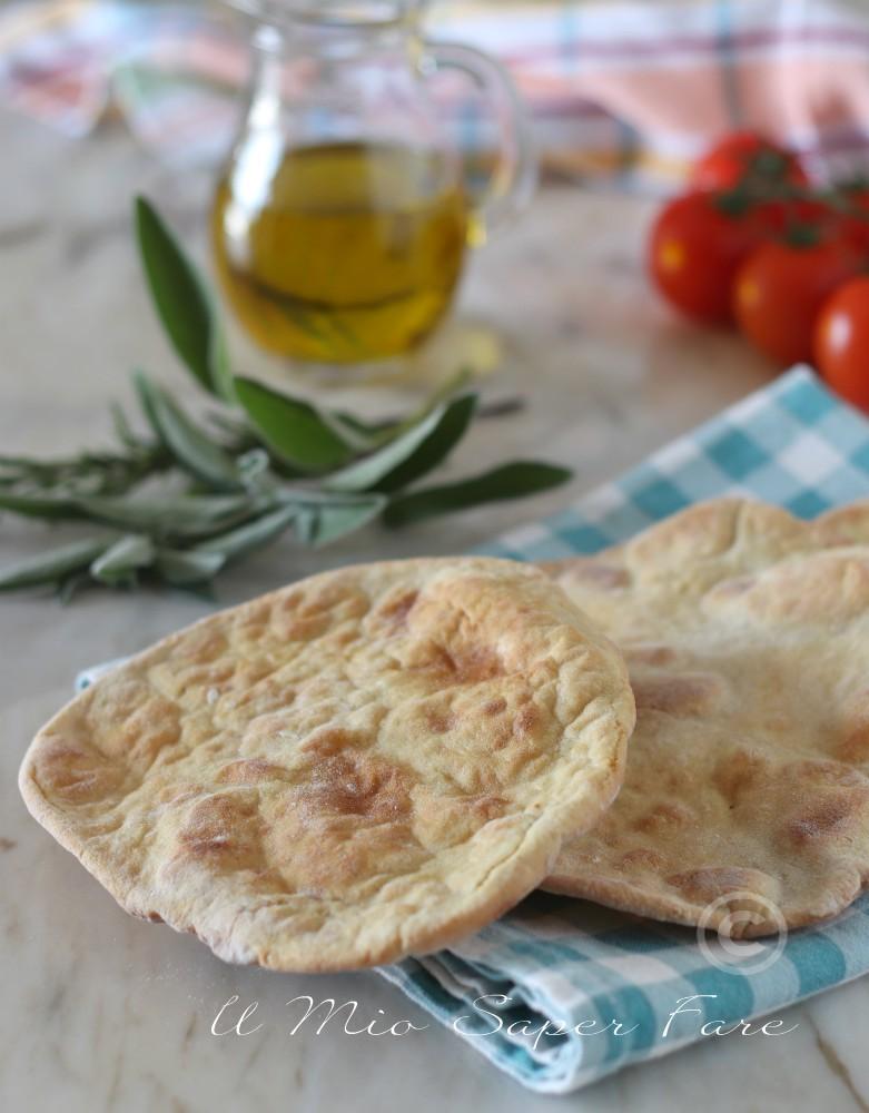 Piadine di patate al forno ricetta impasto con panna il mio saper fare