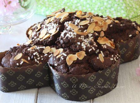 Colomba al cioccolato fatta in casa dolce di Pasqua