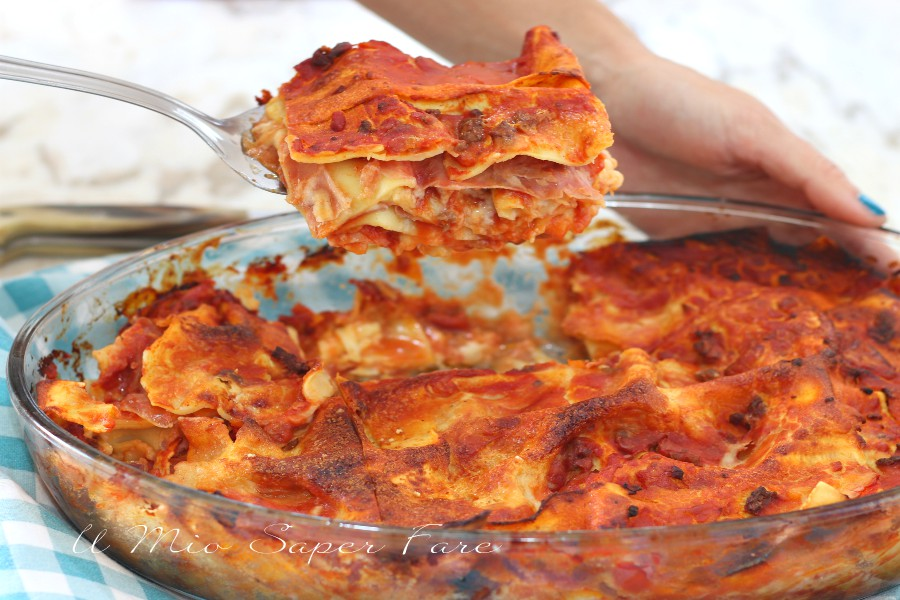 Lasagne al forno ricetta pasta al forno classica il mio saper fare
