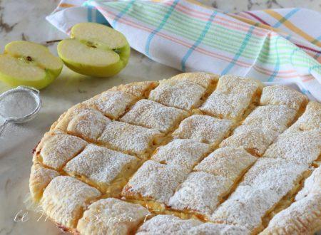 Torta trapunta alle mele ricetta con pasta sfoglia