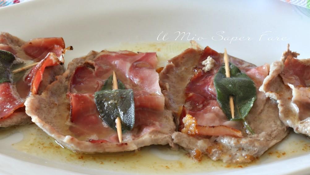 Saltimbocca alla romana con prosciutto crudo e salvia ricetta il mio saper fare