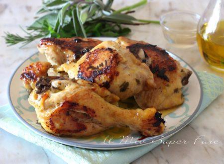 Pollo all'aceto ricette secondi con carni bianche