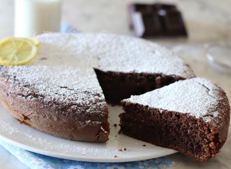 Torta ricotta e cioccolato fondente ricetta dolce soffice e facile