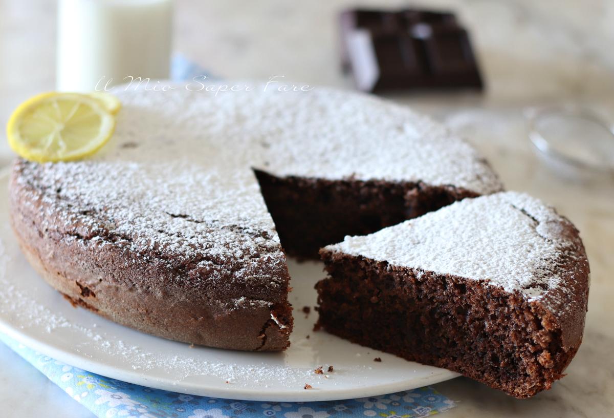 Torta ricotta e cioccolato fondente ricetta dolce soffice e facile il mio saper fare